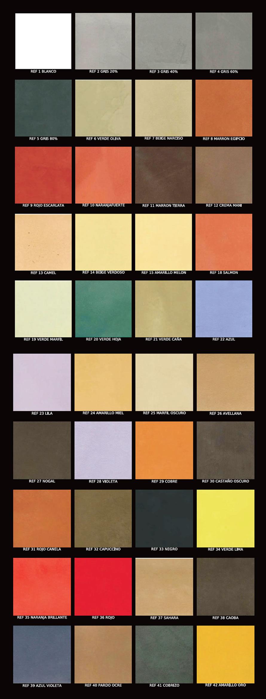 Galeria de trabajos realizados con microcemento - Colores de microcemento ...